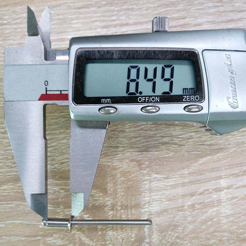 不锈钢拉钉测量长度